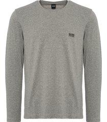 boss by hugo boss mix & match long sleeve t-shirt - medium grey 50379006