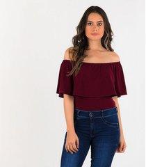 blusas vinotinto derek 820849