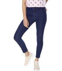 jeans high rise skinny azul oscuro corona
