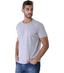 camiseta opera rock t-shirt mescla cinza - cinza - masculino - algodã£o - dafiti