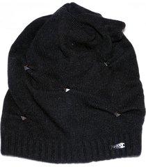 cappello liu jo a64332 m0300 nero