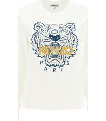 kenzo sweatshirt with tiger embroidery