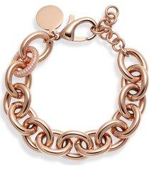 women's knotty chunky chain bracelet