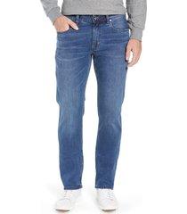 men's tommy bahama sand straight leg jeans, size 30 x 32 - blue