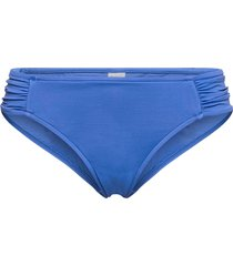 seafolly ruched side retro bikinitrosa blå seafolly