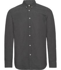 liam bx shirt 11389 overhemd casual zwart samsøe samsøe