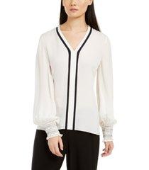 elie tahari kinsley silk blouse