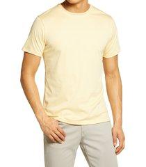 men's robert barakett georgia crewneck t-shirt, size x-large - yellow