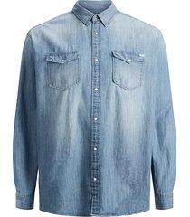 plus size overhemd western stijl
