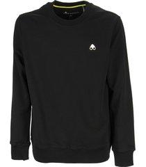 moose knuckles greyfield - crew neck sweatshirt