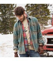 warm & fuzzy blanket shirt