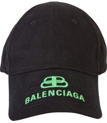 balenciaga branded baseball hat