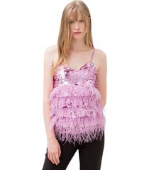 top with sequins f120w18002w00401