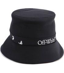 off-white logo rain cap