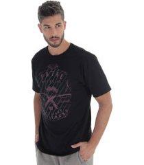 camiseta fatal estampada 17660 - masculina - preto