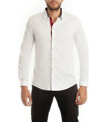 camisa frank pierce new prince c2007 - blanco