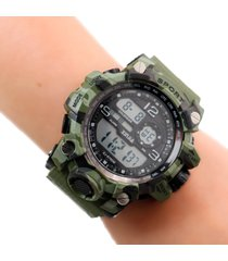 reloj militar digital verde dayoshop