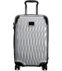 mala de mão internacional latitude tumi - prata