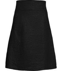 saphira knälång kjol svart masai