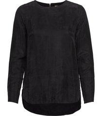 sin blouse lange mouwen zwart whyred