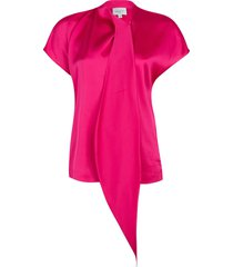 blouse met strik serena  roze