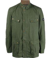 barbour cargo field jacket - green