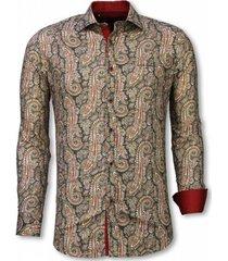 overhemd lange mouw tony backer blouse cashemira paisley pattern