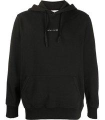 black sphere logo hoodie