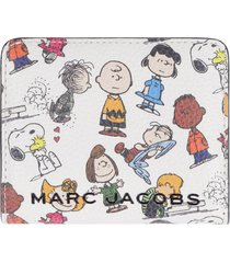 marc jacobs peanuts x marc jacobs - micro leather wallet