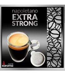 100 italian espresso pods. ese.top quality extra strong! easy serve pods! new!