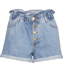 onlcuba life paperbag dnm shorts shorts denim shorts blå only
