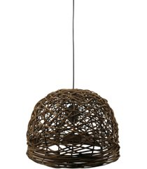 pacific coast open work rattan fixture pendant, created for macy's