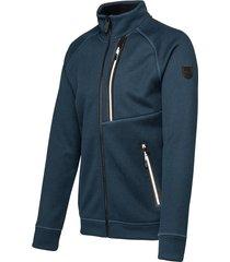 falcon man jacket woody woody-n094 blauw