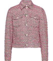 yoel blazers bouclé blazers rosa custommade