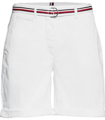 cotton tencel chino rw short shorts chino shorts vit tommy hilfiger