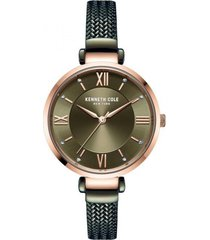 reloj verde kenneth cole new york