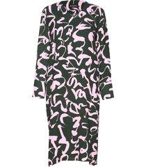 synonyymi harha dress jurk knielengte groen marimekko