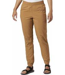 pantalon mujer sandy river camel columbia