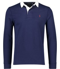 ralph lauren rugby trui big & tall navy