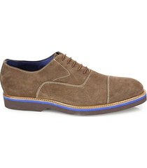 collection suede lace-up dress shoes