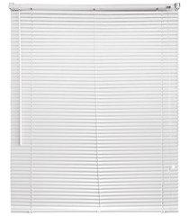 persiana horizontal em pvc 160x160cm branca