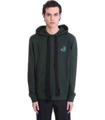 loewe sweatshirt in green cotton