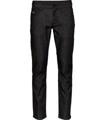 2 mb straight denton raw black jeans svart tommy hilfiger