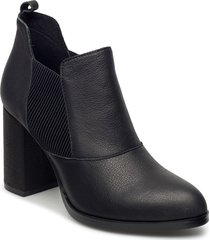 elise l shoes boots ankle boots ankle boots with heel svart shoe the bear