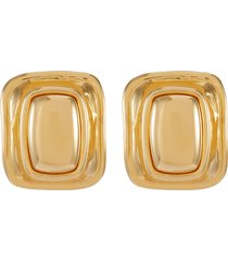 'toy' extra large clip earrings