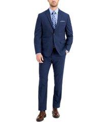 perry ellis men's slim-fit comfort stretch suit