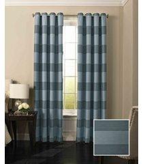 "beautyrest 52"" 84"" gaultier blackout window curtain"