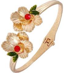 nanette lepore winter garden bypass hinge bracelet