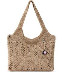 the sak casual classics crochet tote