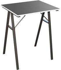 mesa para escritório 60x48cm preta